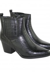 Støvle i cowboylook