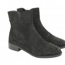 Støvle med sorte similisten