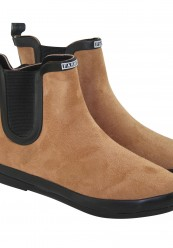 Kort gummistøvle med foer i
