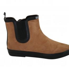 Kort støvle med foer i