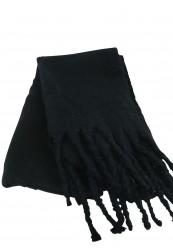 Sort tørklæde