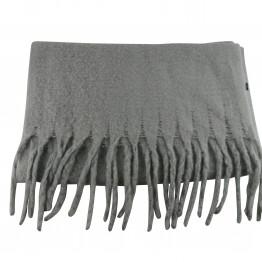 Brunligt tørklæde