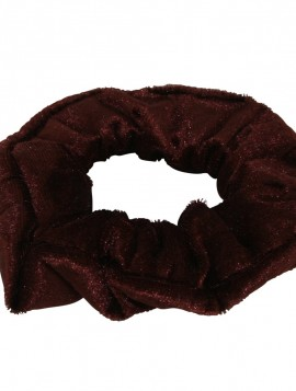 Scrunchies velour look