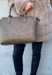 Håndtaske med rem