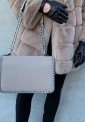 Taske med kæderem
