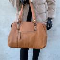 Håndtaske med lomme