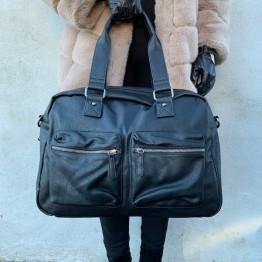 Rejsetaske med lommer