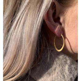 Øreringe oval