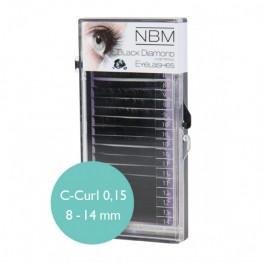 Silk Lashes C-Curl 0,15 mix