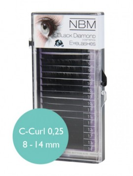 Silk Lashes C-Curl 0,25 Mix