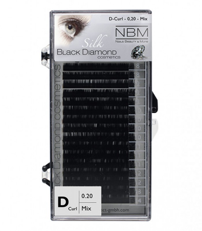 Silk Lashes D-Curl 0,20 Mix