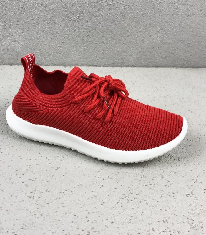 62365303 Rød formstrikket Sneakers | Gratis returlabel | Køb billigt her
