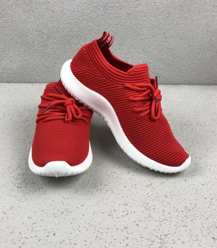 a97171d8 Rød formstrikket Sneakers · Rød formstrikket Sneakers · Rød formstrikket  Sneakers