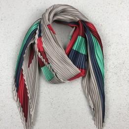 Plisseret Tørklæde