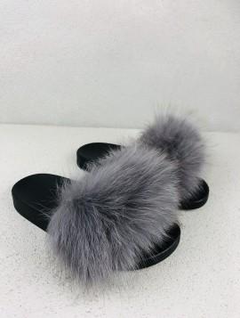 Ægte Pels Sandal