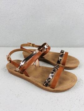Sandal med rem