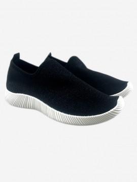 Sort Slip On Sneaker