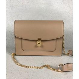 Lille Håndtaske i Taupe