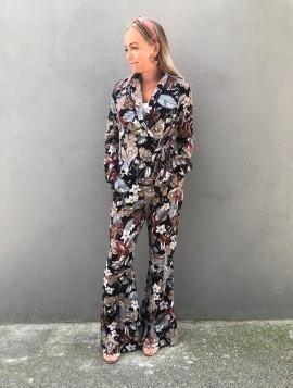 Bukser med blomster print