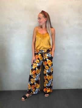 Bukser med blomsterprint