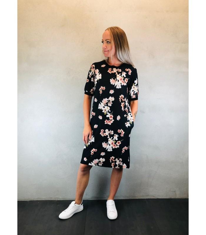 b.young T-shirt kjole med blomsterprint