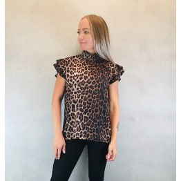 b.young top med leopardprint