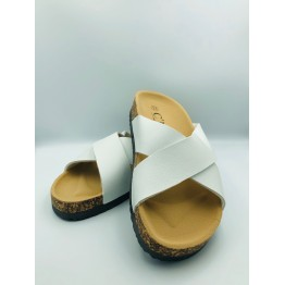 Hvid sandal