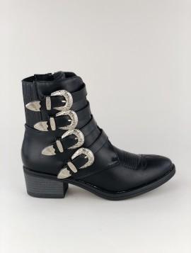 Imiteret læder støvle