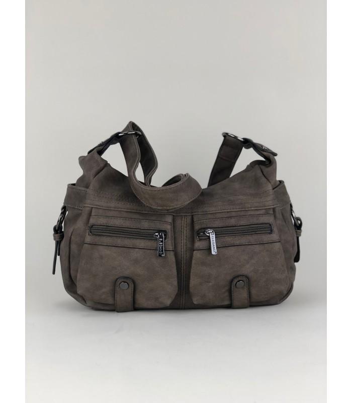 Blød taske med mange lommer