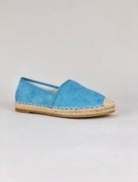 Blå Slip In Sko