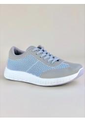 Grå Sneakers