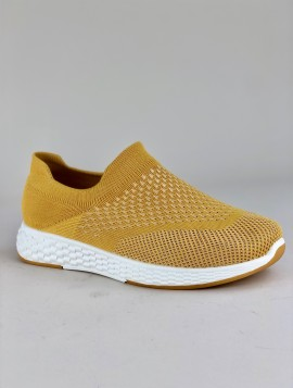 Gul slip in sneakers