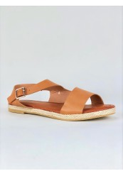 Klassisk camel sandal