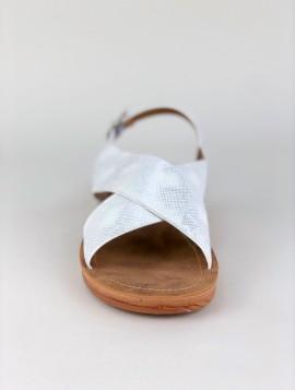 Hvid Crossover Sandal