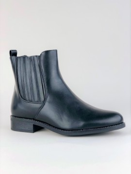 Sort støvle