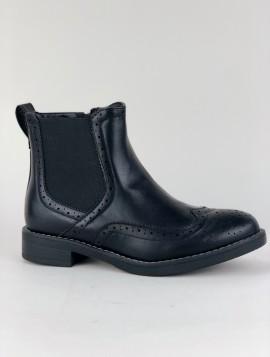 Støvle med elastik i siden