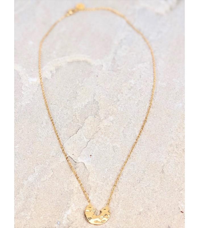 Guldbelagt halskæde