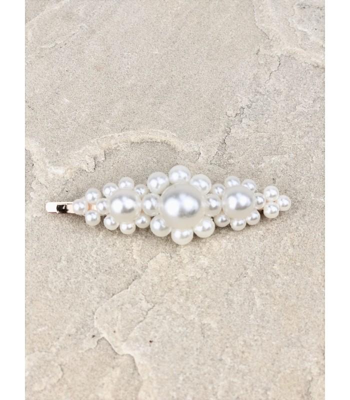 Stor hårnål med perler