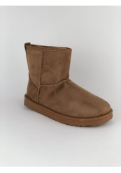 Camel bamsestøvle med kort skaft