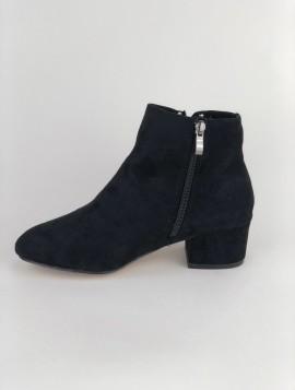 Sort klassisk støvle