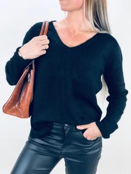 Uld strik pullover