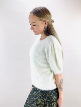 B.young Bxnina Pullover i hvid