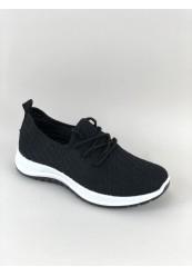 Sort Letvægt Sneakers