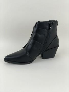 Spids Støvle med Spænder