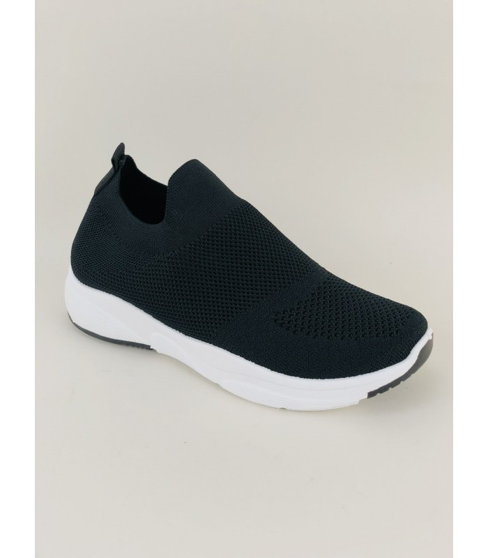 Sort Formstrikket Sneakers