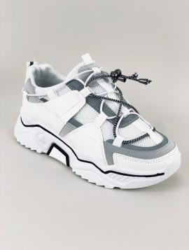 Hvid Statement Sneakers