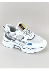 Hvid Statement Sneakers Chunky