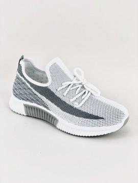 Grå Letvægt Sneakers