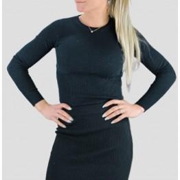 Image of   Sort Strik bluse - Størrelse - OneSize