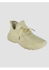 Formstrikkede sneakers med kraftig sål